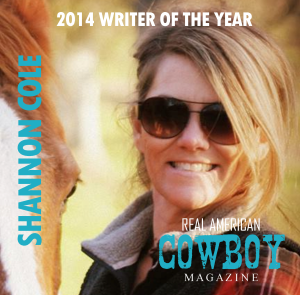 shannon cole writer of the year